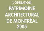 Montreal architectural heritage campaign